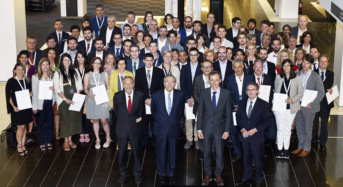 lacaixa award ceremony 2019