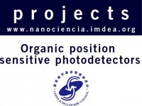 Organic position sensitive photodetectors
